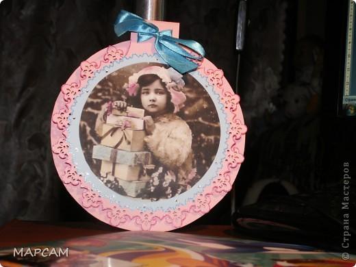 Родилась еще такая открыточка с пуанссетиями фото 4