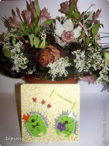 20-го ноября выдаю свою лучшую подругу замуж.  Эта коробочка сделана для неё. фото 5