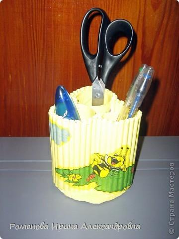 Подставка для карандашей фото 2