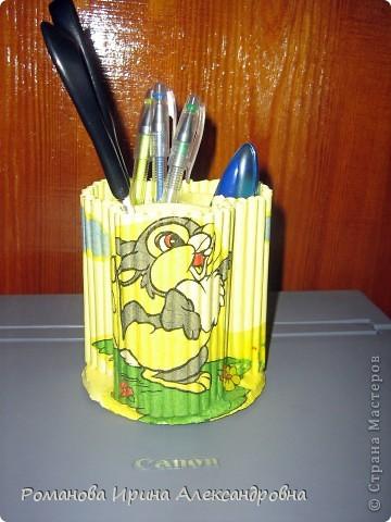 Подставка для карандашей фото 1