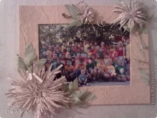 Рамочка для фоточки-основа-обои,декор-скорлупки от фисташек+цветные карамельки ))) фото 6