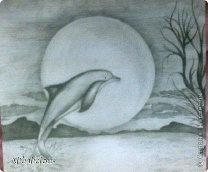 Рисунок формата А3 выполнен простым карандашом.