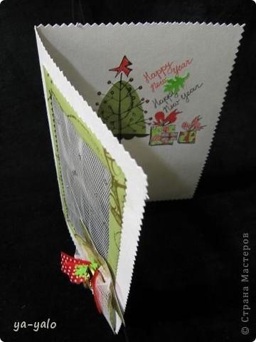 """Вот такая придумалась новая открытка (спасибо """"Деду Морозу"""" за приятный сюрприз) фото 4"""