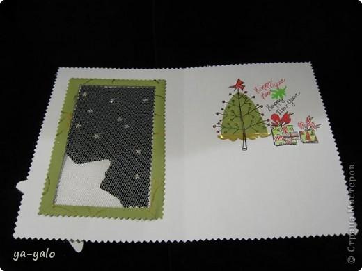 """Вот такая придумалась новая открытка (спасибо """"Деду Морозу"""" за приятный сюрприз) фото 7"""