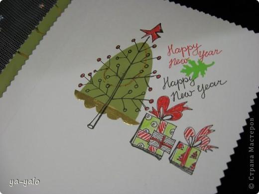 """Вот такая придумалась новая открытка (спасибо """"Деду Морозу"""" за приятный сюрприз) фото 5"""