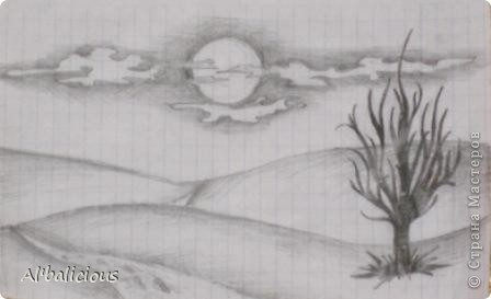 мини картинка)))) было ужасно скучно на уроке истории....накалякала на тетрадном листе...)))