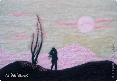 Мозаика из бисера формата А3 на ее создание меня вдохновила, конечно же, ЛЮБОВЬ)))