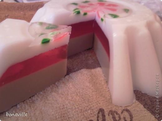 первый мыльный торт.   фото 2