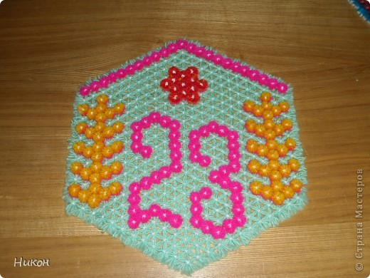 плетение на рамке фото 2