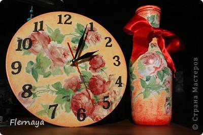 Часы и ваза фото 1