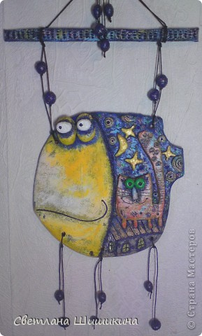"""Я как и многие очарована изделиями """"Цветной рыбы"""" Это рыбка повторюшка с сайта http://colourfish.ru/ фото 1"""