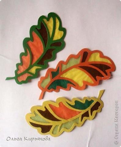 У многих мастериц уже начался новогодний марафон, а в нашей школе до сих пор на потолочных светильниках висят вот такие осенние листья. Может быть именно поэтому в этом году в Москве такая долгая теплая осень? Завтра буду снимать эту красоту. На прощанье решила сфотографировать и вам показать. фото 4