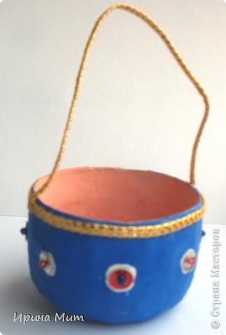 Новогодние игрушки - папье-маше фото 4