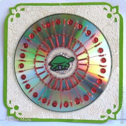 Украшение CD-дисков фото 1