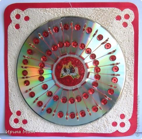Украшение CD-дисков фото 2