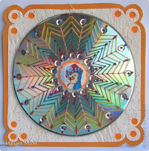 Украшение CD-дисков фото 3