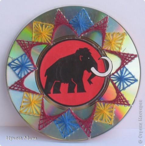 Украшение CD-дисков фото 4