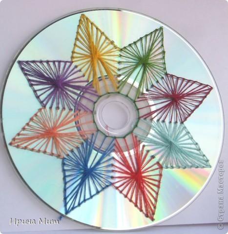 Украшение CD-дисков фото 5