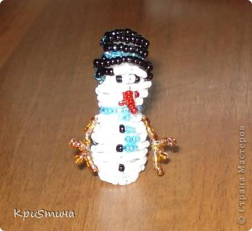 Дед Мороз его Олень и Снеговик фото 2