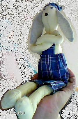 Тильда-зайка Поедет в Украину племяннику Диме фото 1