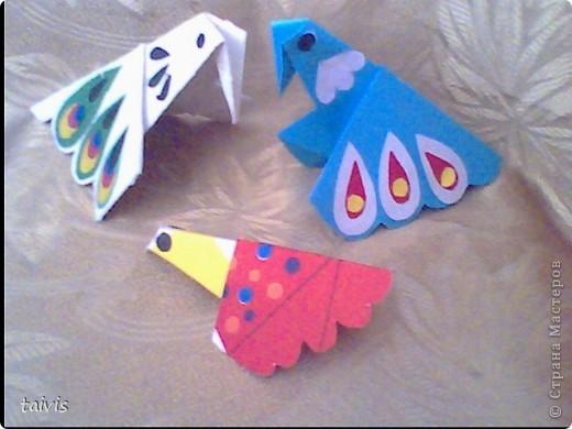 Птицы-оригами. фото 2