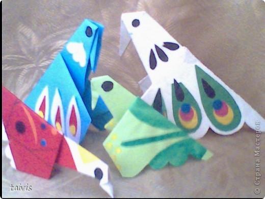 Птицы-оригами. фото 1
