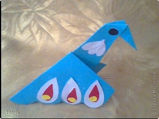 Птицы-оригами. фото 5