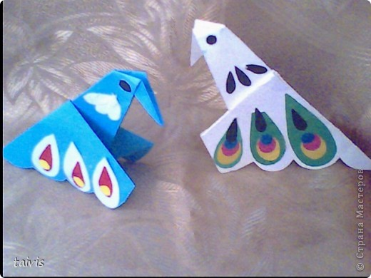 Птицы-оригами. фото 3