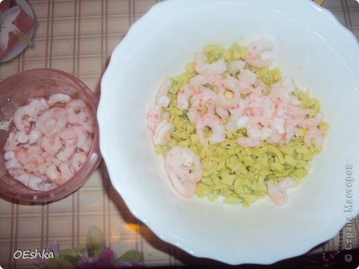 """Скоро Новый Год .Предлагаю приготовить такой салат.Сделать его очень легко,а выглядит он красиво и необычно.И еще ,он порционный,каждому гостю своя """"лодочка"""".  фото 7"""