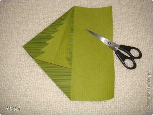 Очень понравились открытки (или конверты) с елочкой. Сделала образец. В понедельник будем делать с учениками. Хочу поделиться своей находкой с вами.  фото 13