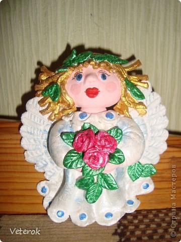 Ангелок с золотыми волосами фото 2