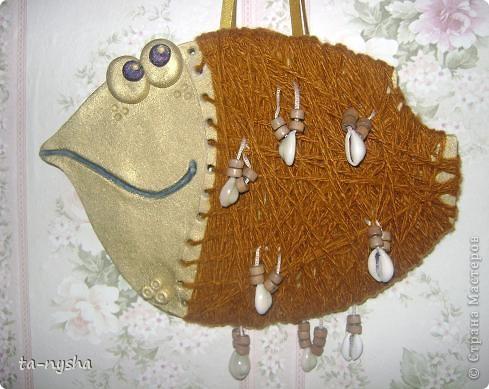 Ракушечная рыба - она нить №3 фото 1