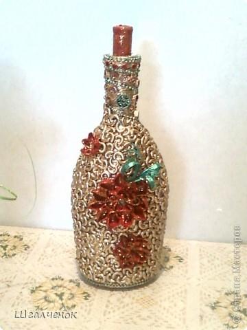 Ещё одна бутылочка на заказ. фото 1