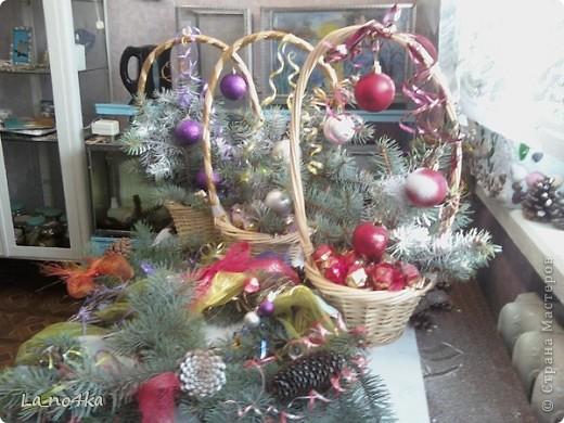 Сладкая композиция к Новому году и Рождеству