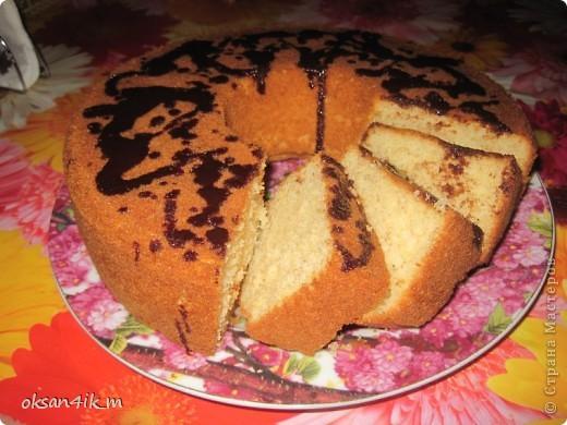 Сегодня решили испечь кекс творожный.Он получается очень нежный и вкусный. фото 1