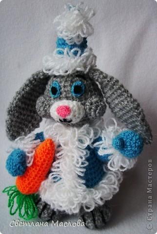 Кролик новогодний.