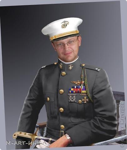 Белый офицер(мужа в образе) фото 9