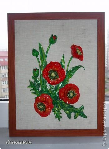 Не смогла устоять и повторила картину Ларисы Ивановны. Это подарок моей маме. Моя сотрудница уже заказала картину ирисов или лилий....))))) фото 1