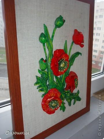 Не смогла устоять и повторила картину Ларисы Ивановны. Это подарок моей маме. Моя сотрудница уже заказала картину ирисов или лилий....))))) фото 2
