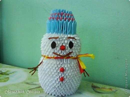 Снеговик. фото 1