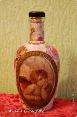 Декор бутылок. Выполнение на заказ к Вашему торжеству фото 1