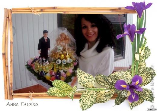 Свадебная конфетница) фото 4