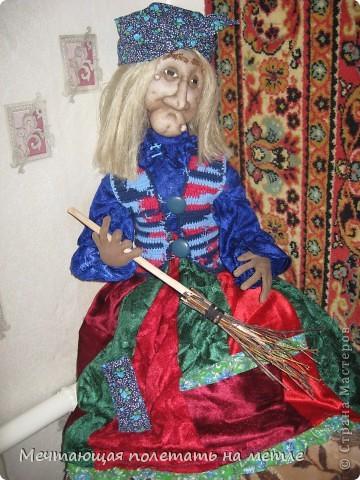 ДУНЯША. Скульптурно-текстильная кукла фото 4