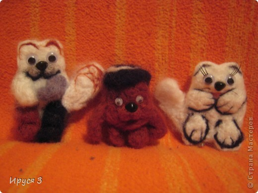 Черепаховый котик , смешарик медвежонок и песец фото 1
