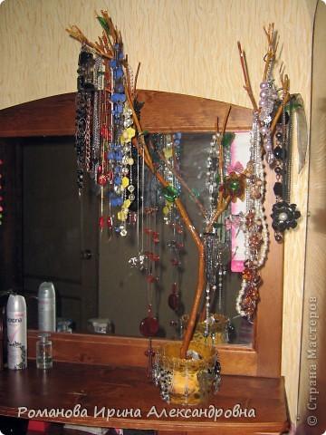 Деревце для бижутерии фото 1