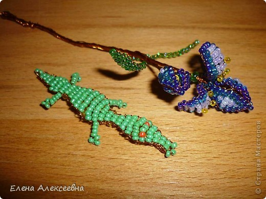 Черепашка, плетение на леске фото 3