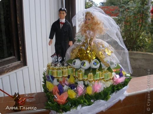 Свадебная конфетница) фото 2