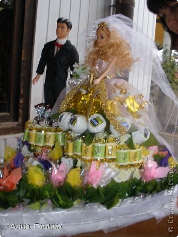 Свадебная конфетница) фото 3