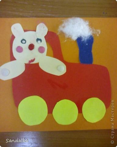 И еще мишка на поезде фото 1