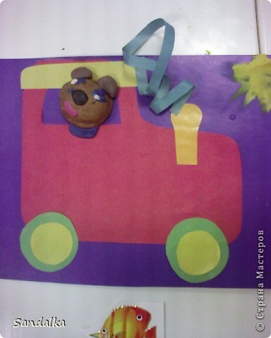 И еще мишка на поезде фото 2
